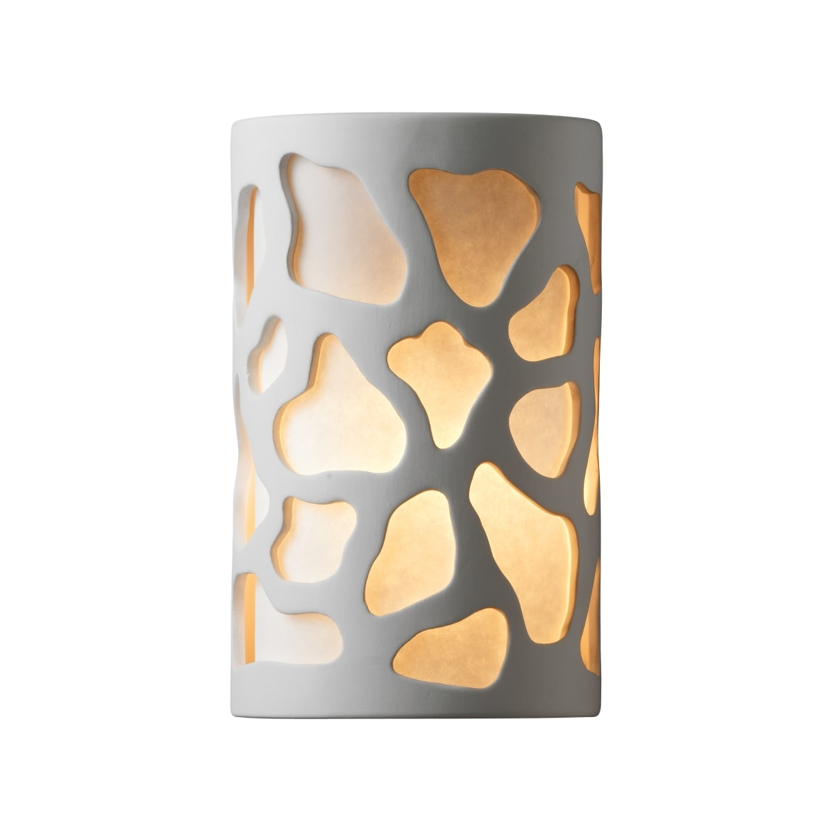 Justice Design Group Cer 7455w Cks Led1 1000 Sienna Brown Crackle