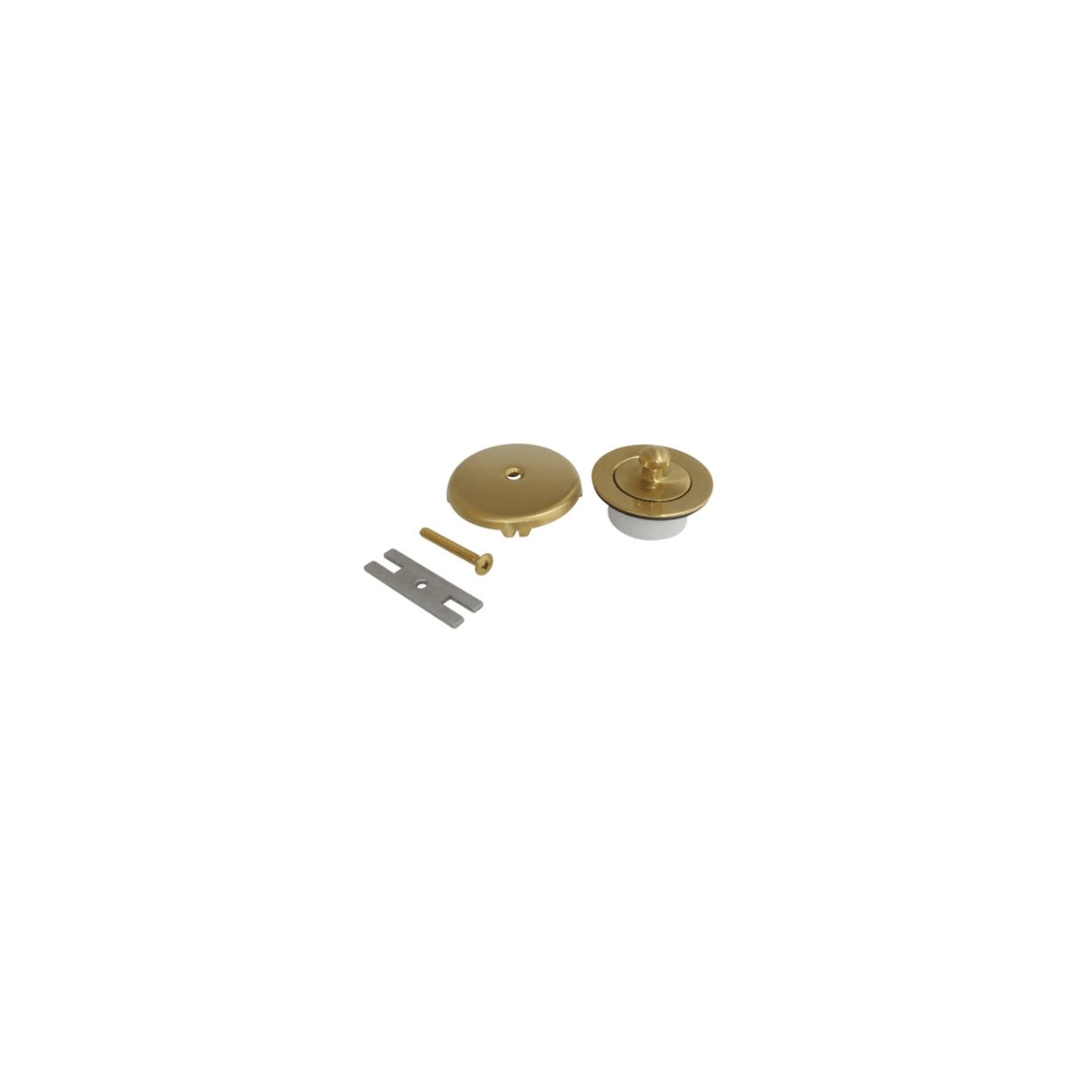 Kingston Brass Made to Match DLT5301A2 Lift and Turn Tub Drain Kit Polished Brass Made to Match
