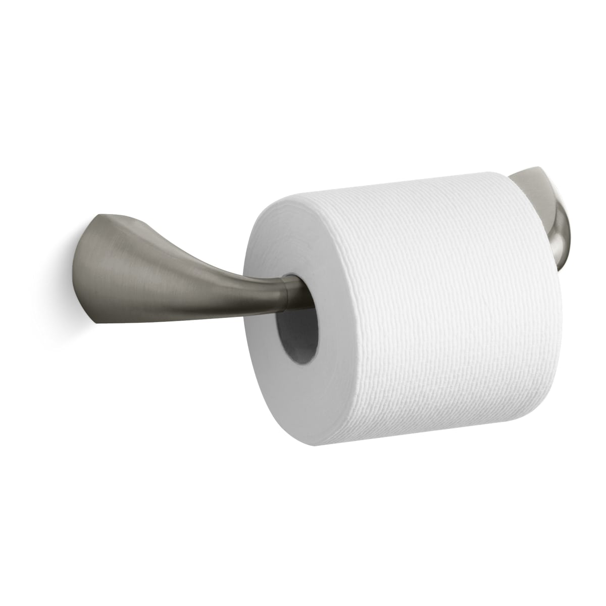 KOHLER Bathroom Toilet Paper Holder Brass Wall-Mount Double Post Polished Chrome