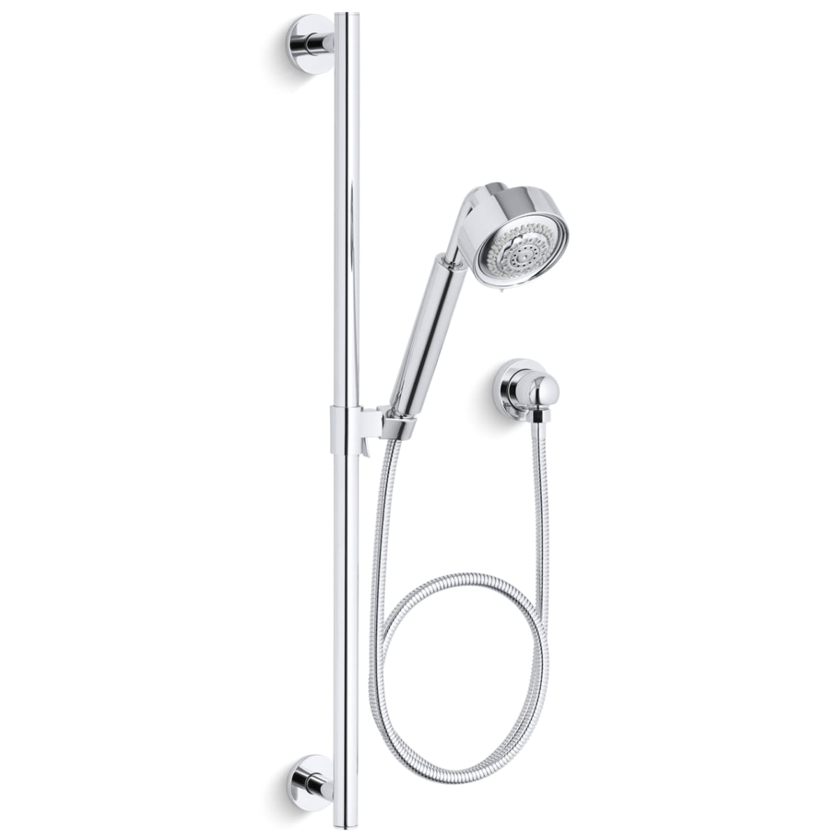 Kohler K 9059 Cp Polished Chrome Purist Multi Function Hand