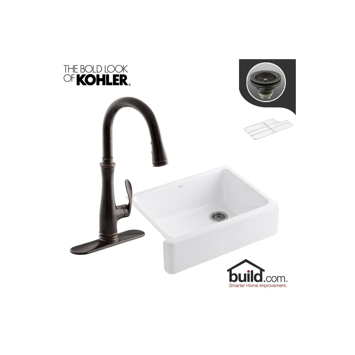 How To Tighten A Loose Kohler Kitchen Faucet Base ...