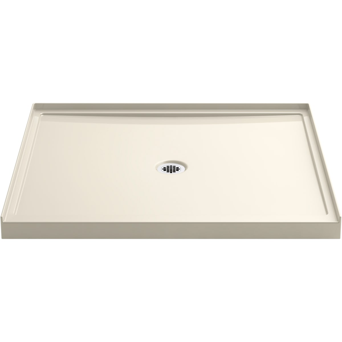 Kohler K 8648 0 White Rely 48 X 42 Square Shower Base With