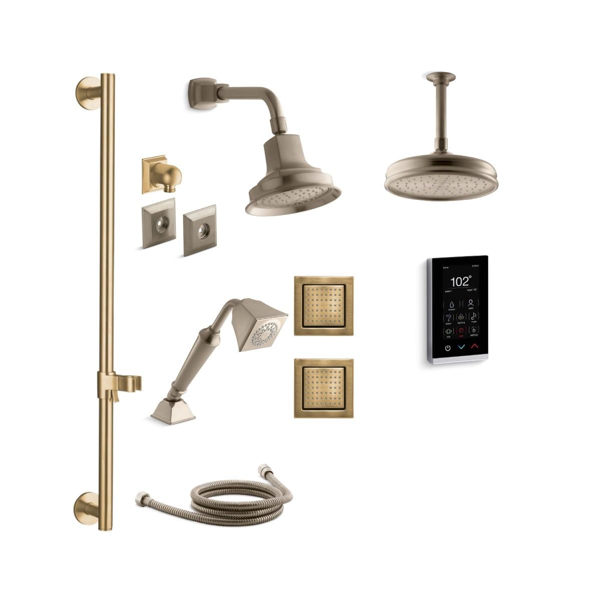 Kohler Dtv Digital Showering Experience