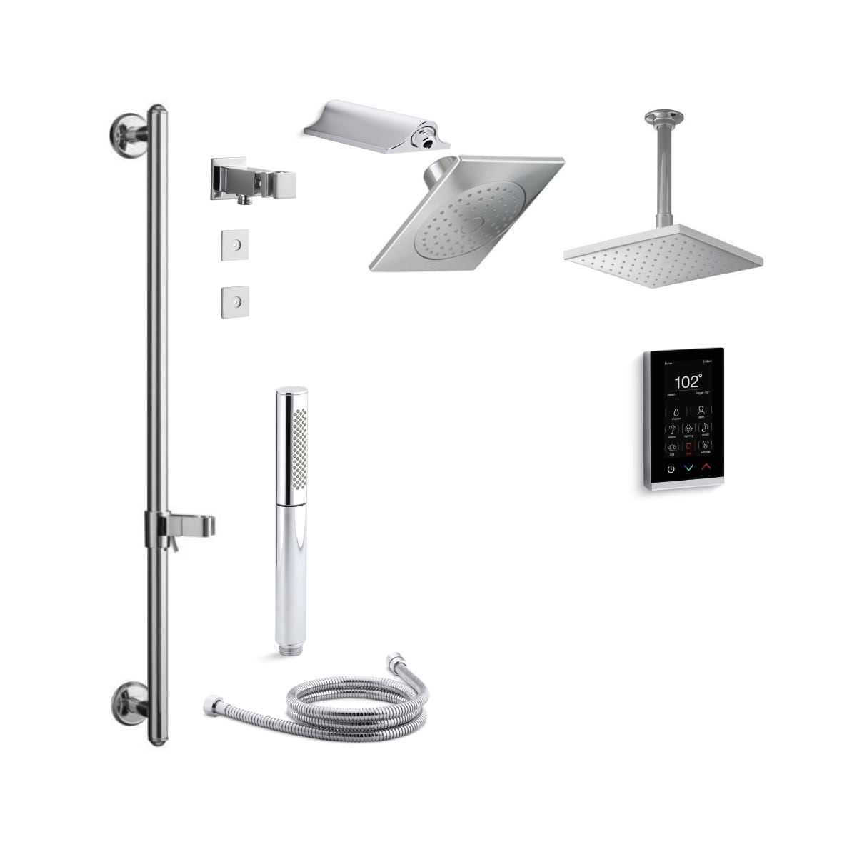 Kohler K Stance Dtv17s Cp Polished Chrome Stance Dtv Shower