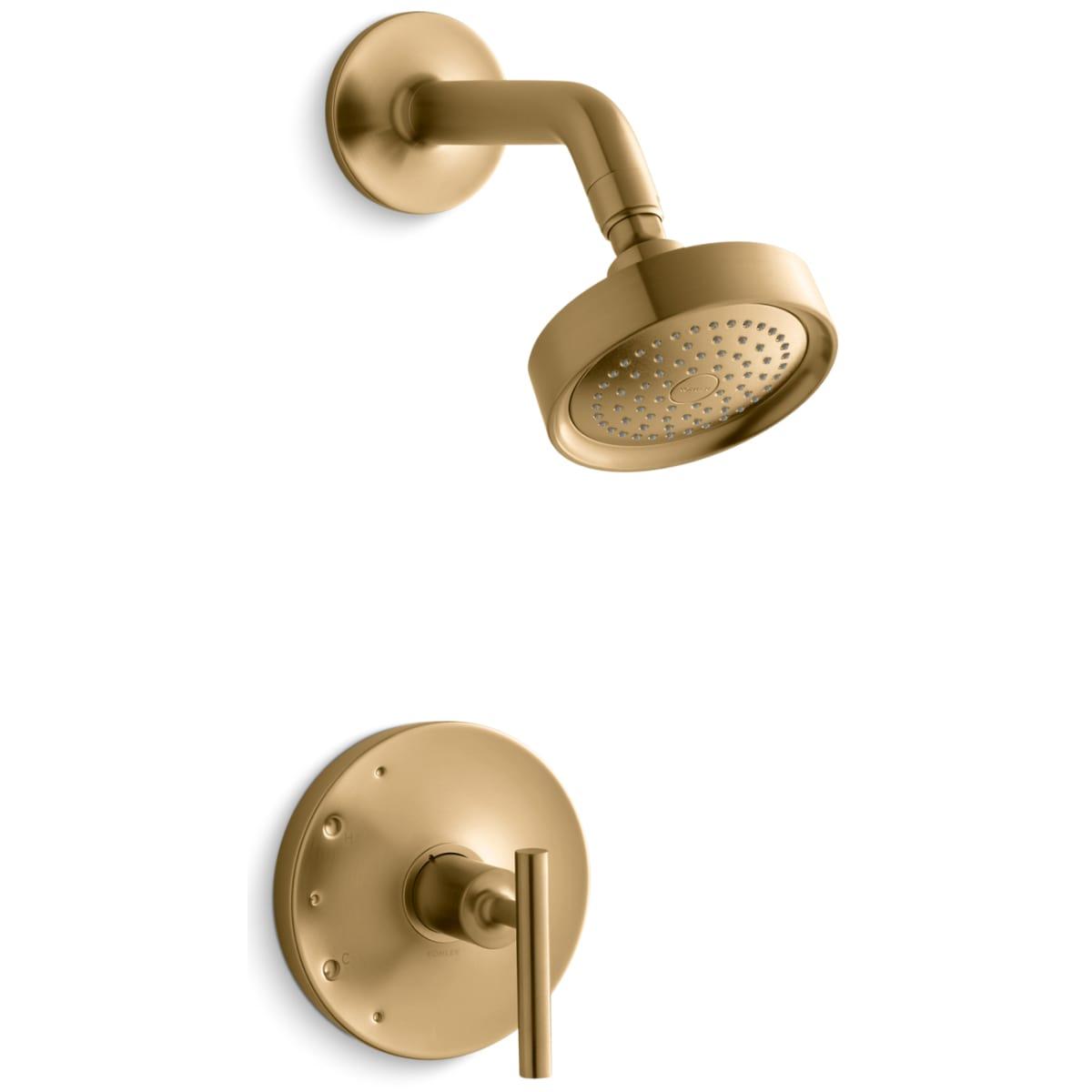 Kohler K Ts14422 4 Bv Vibrant Brushed Bronze Single Handle