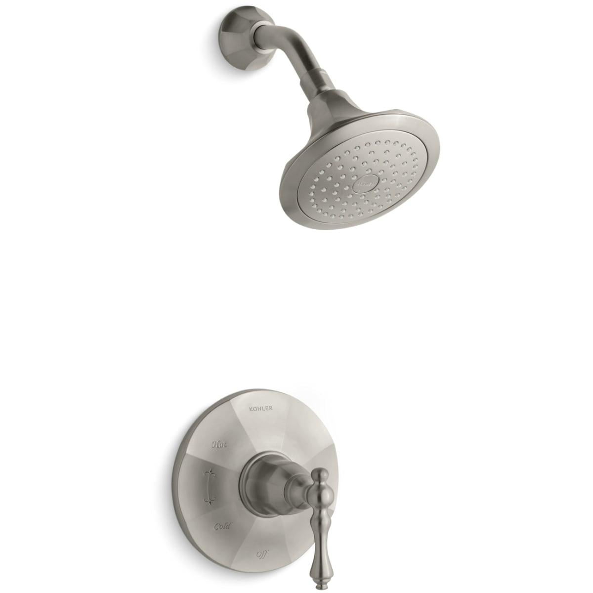 Brushed Nickel Kohler Shower Faucets.Kohler K Ts13493 4