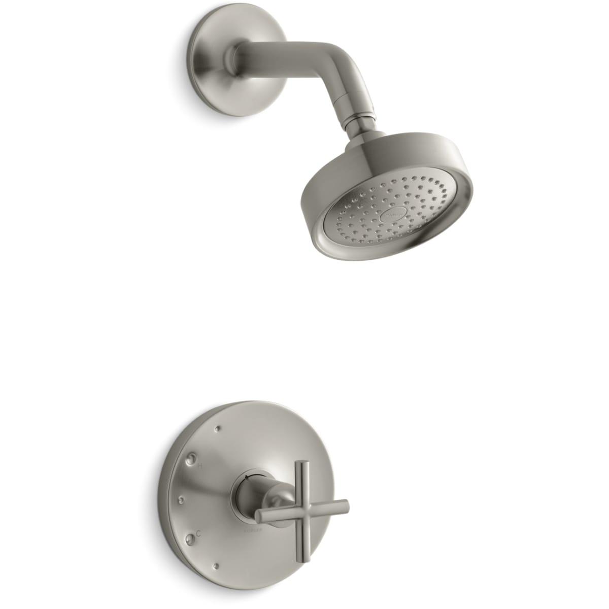 Kohler K Ts14422 3 Bv Vibrant Brushed Bronze Purist Single
