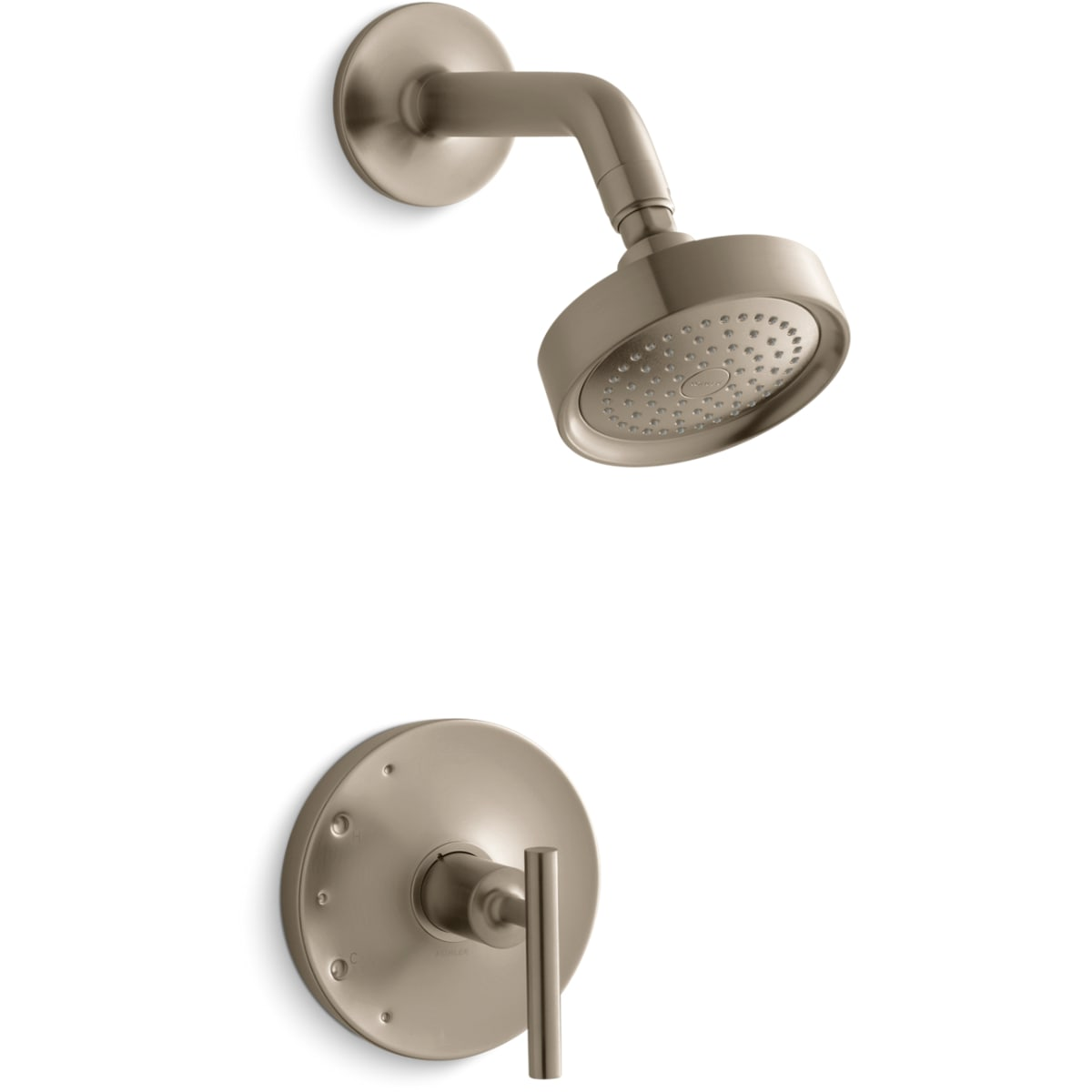 Kohler K Ts14422 4 Bv Vibrant Brushed Bronze Single Handle