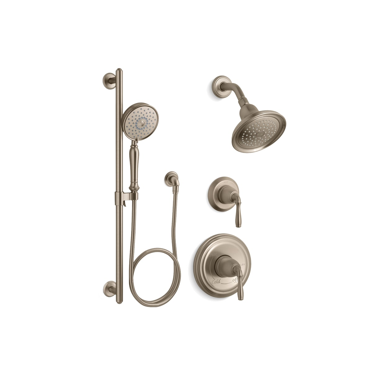 Kohler Kss Devonshire 4 Rths Brz Oil Rubbed Bronze