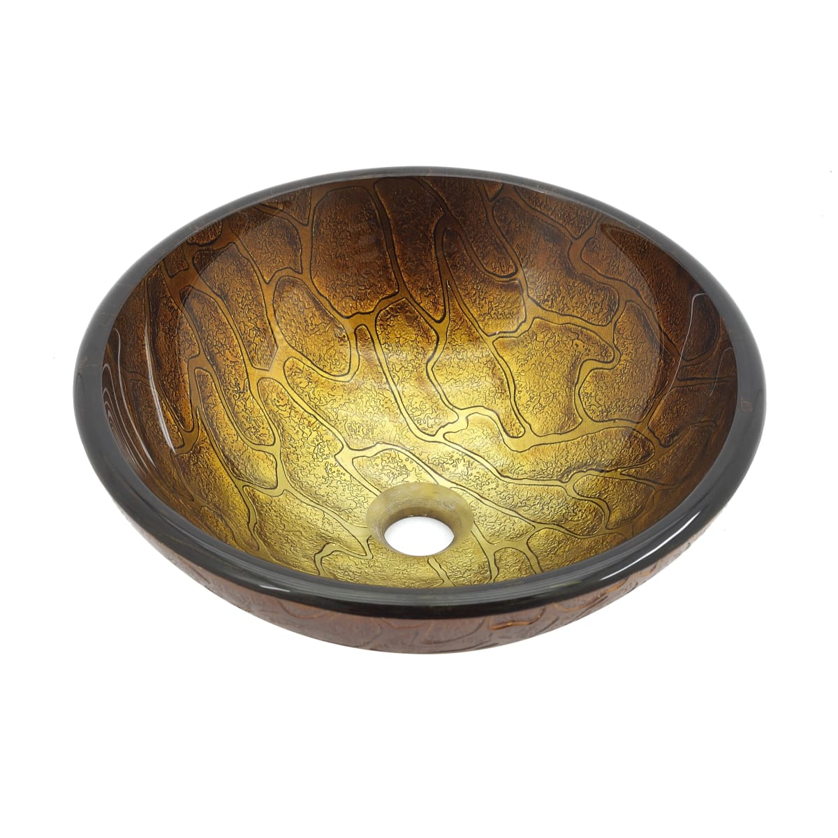 Kraus Gv 690 19mm Triton 16 1 2 Triton Glass Vessel Bathroom Sink Only Faucet Com