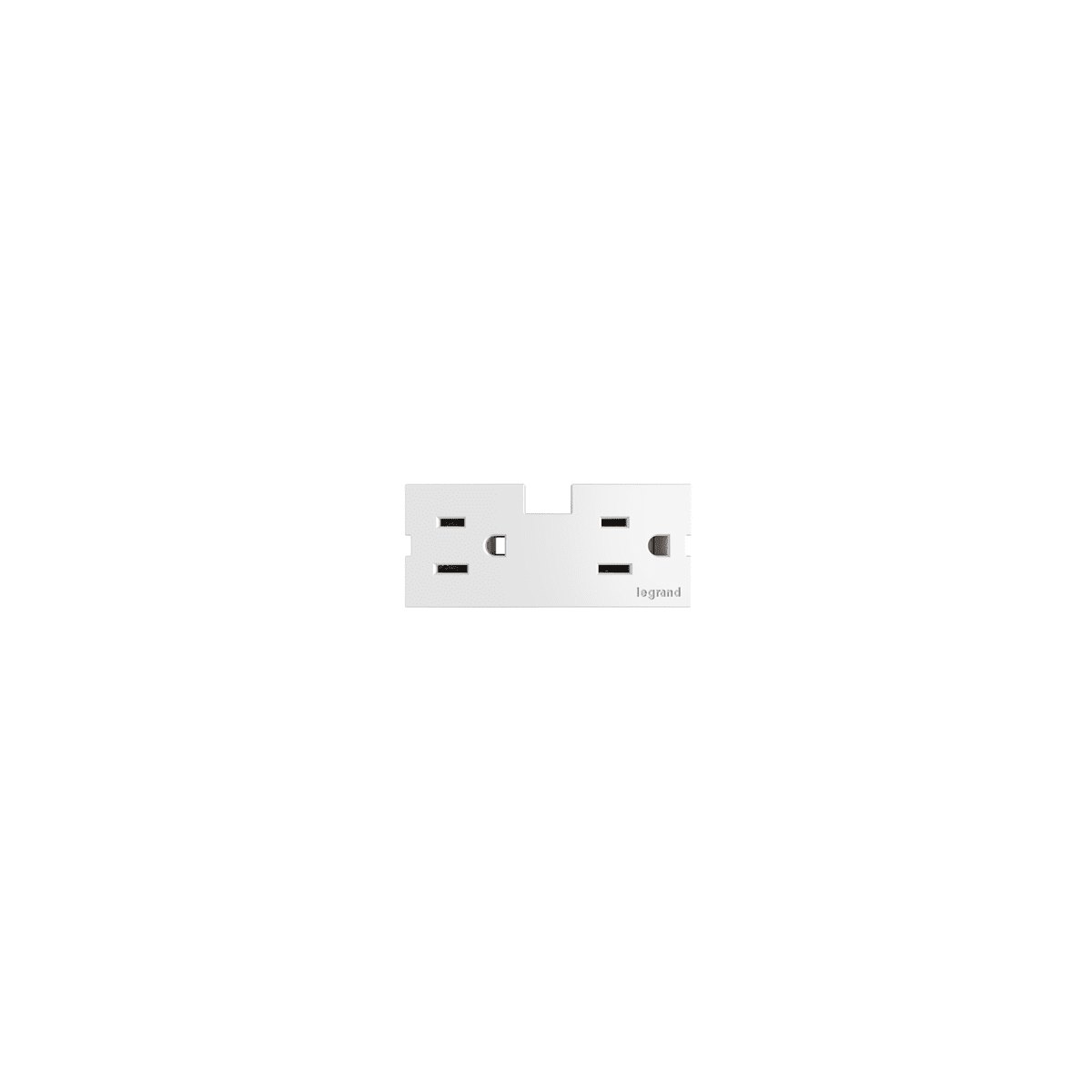 Legrand Aptr15w4 White Outlet Module For The Adorne Under Cabinet