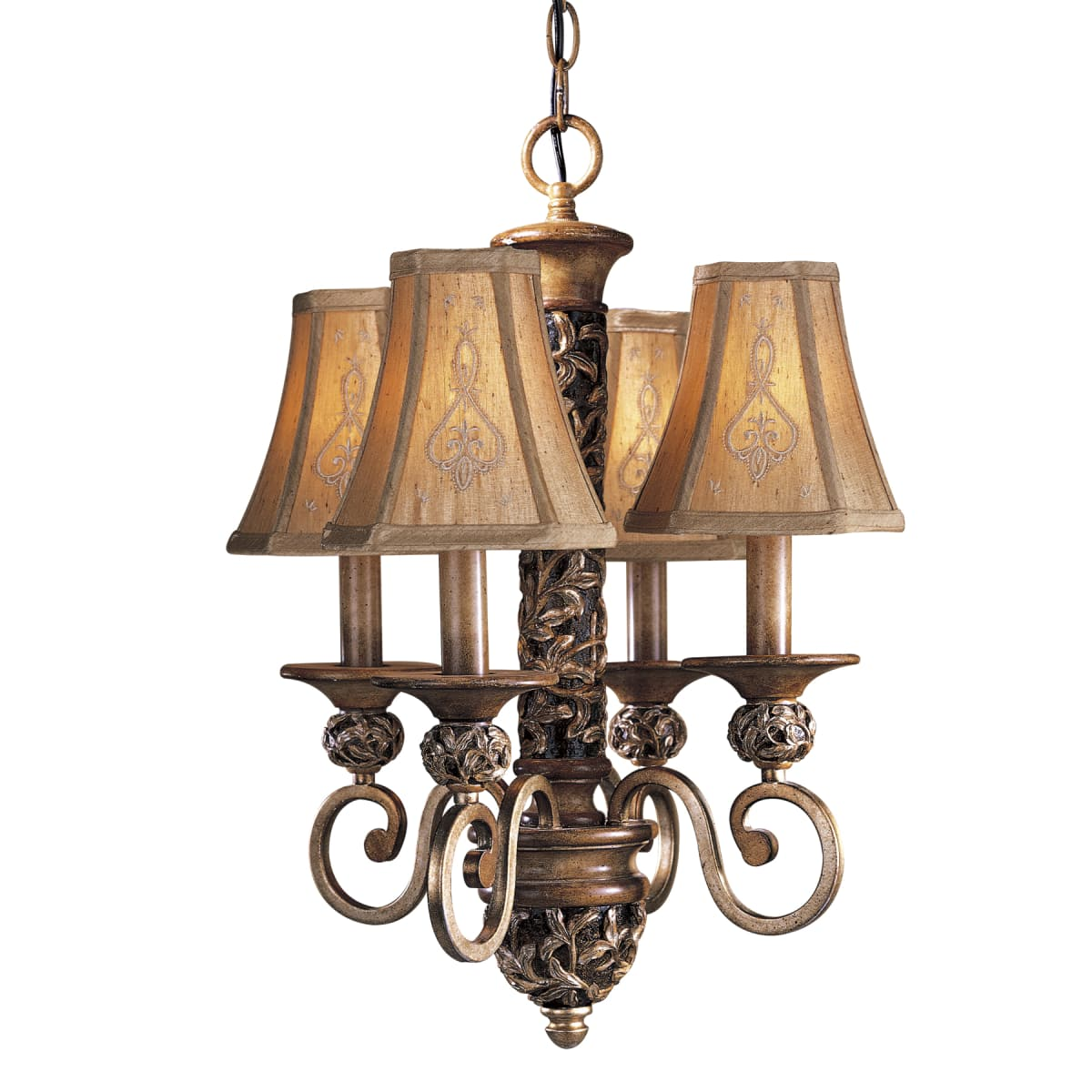 Minka Lavery 1554 477 Florence Patina 4 Light Mini