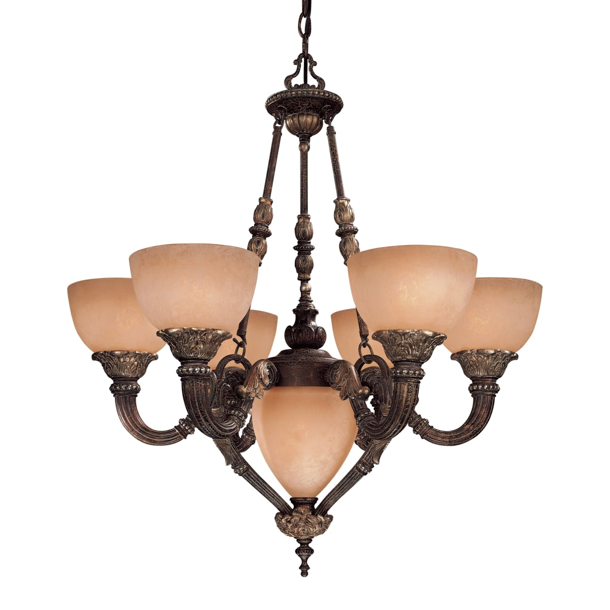 Minka Lavery 816 355 Golden Bronze 7 Light Up Down