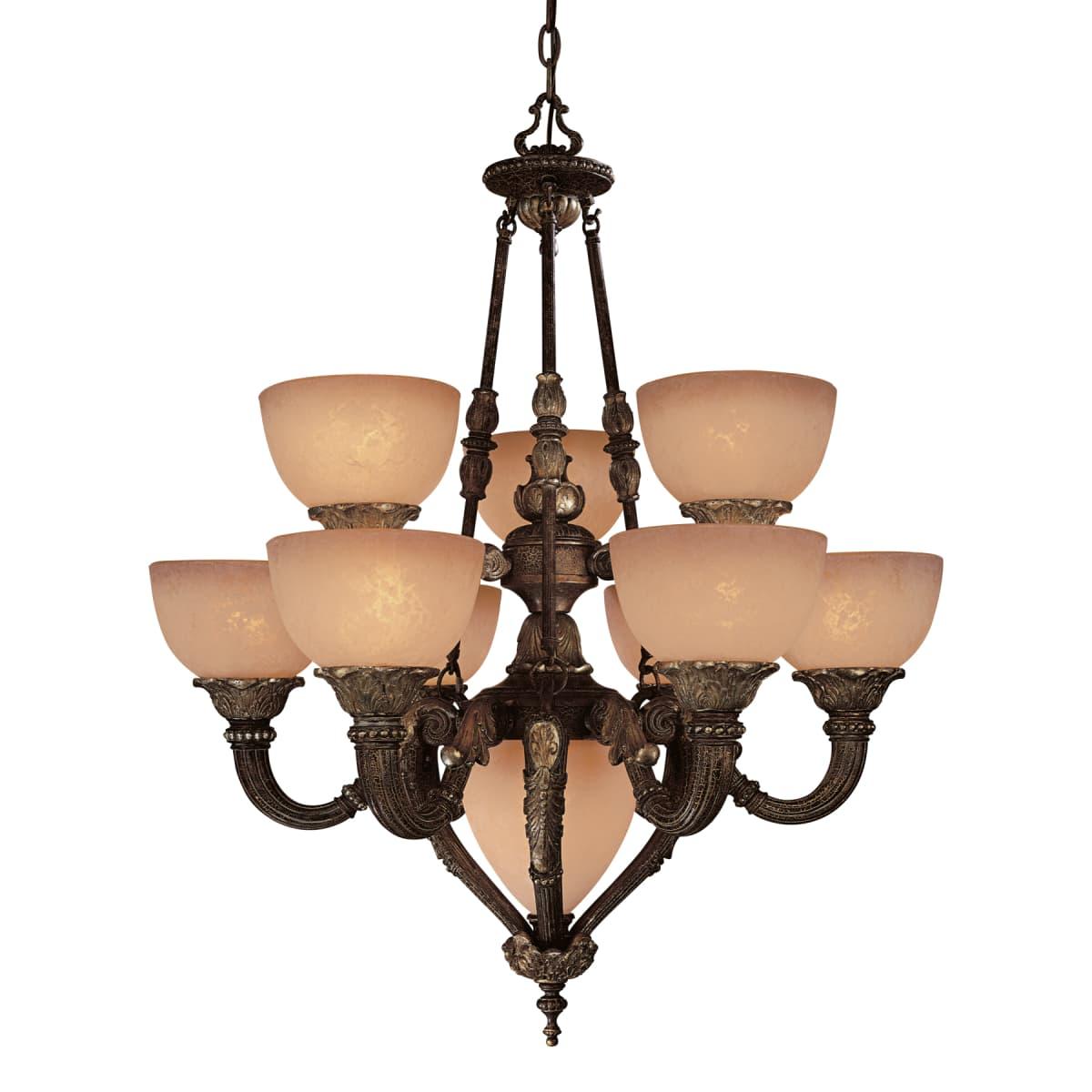 Minka Lavery 819 355 Golden Bronze 10 Light Up Down