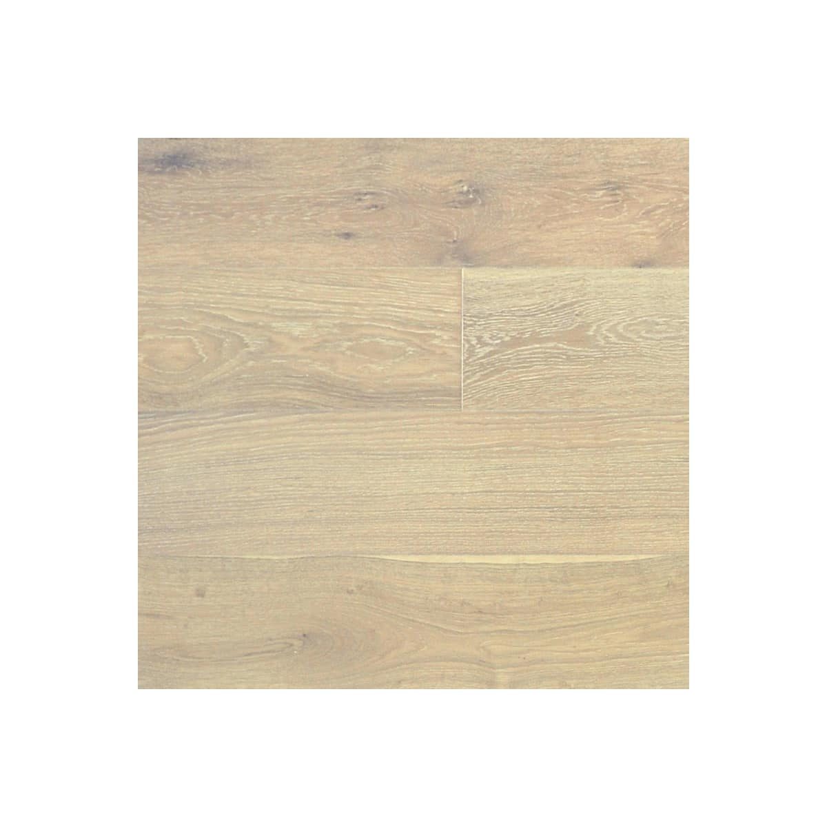 Mieseno White Oak Prefinished Hardwood Flooring - Come discover more French Farmhouse Decor inspired by Fixer Upper and click here to Get the Look of The Club House Kitchen & Sun Room. #fixerupper #joannagaines #kitchendecor #frenchfarmhouse