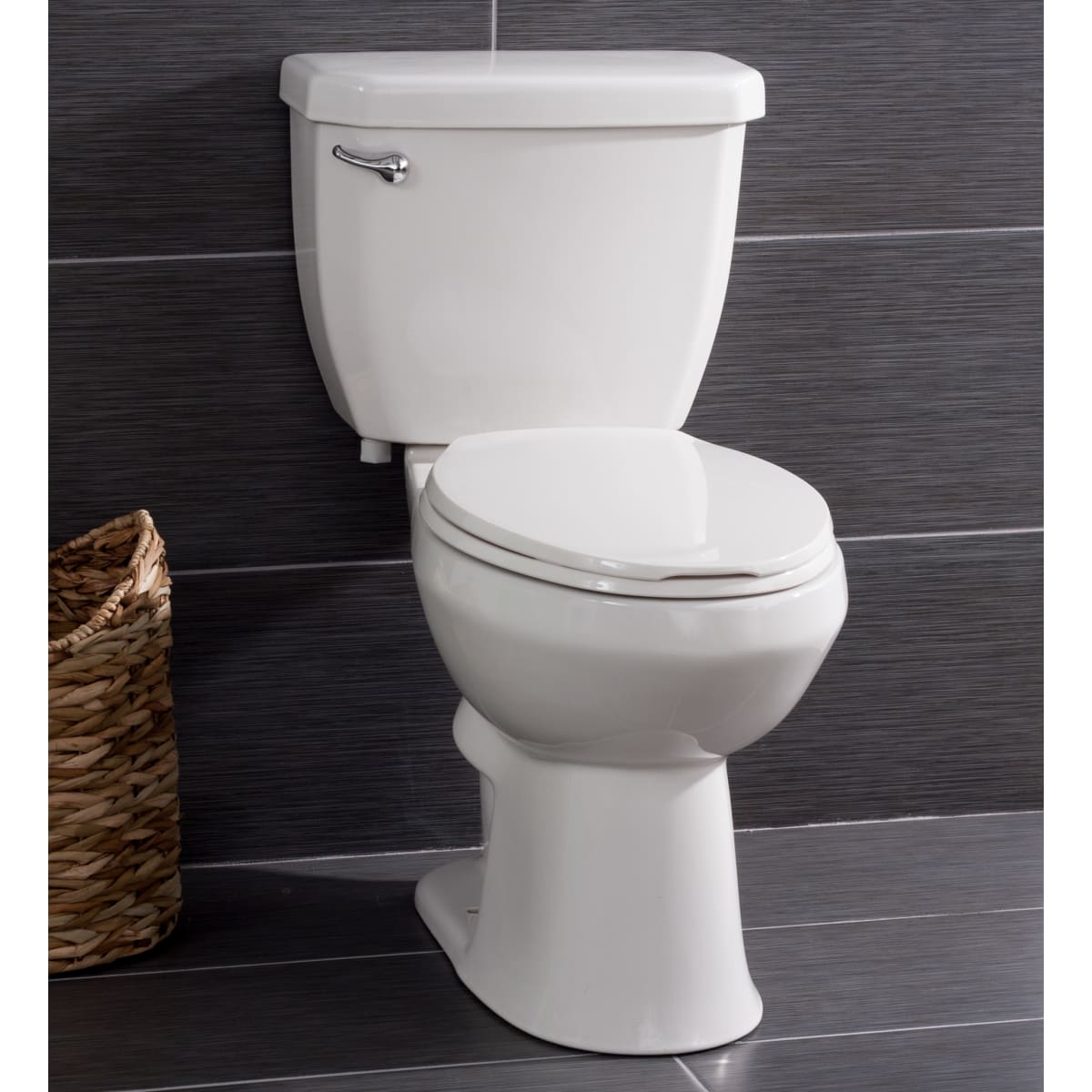 Miseno Bella High-Efficiency 2-Piece Elongated Chair-Height Toilet w/ Seat
