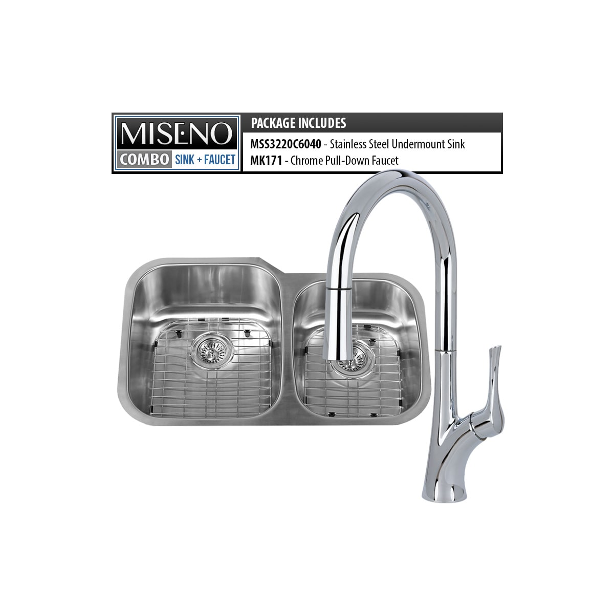 Miseno MSS3220C6040 / MNO171CP 16 Gauge Stainless Steel / Polished on copper bowl sink, hammered copper farmhouse sink, 24 bathroom vanity with sink, cast iron undermount double sink, 24 x 16 sink, 70 30 undermount stainless steel sink,