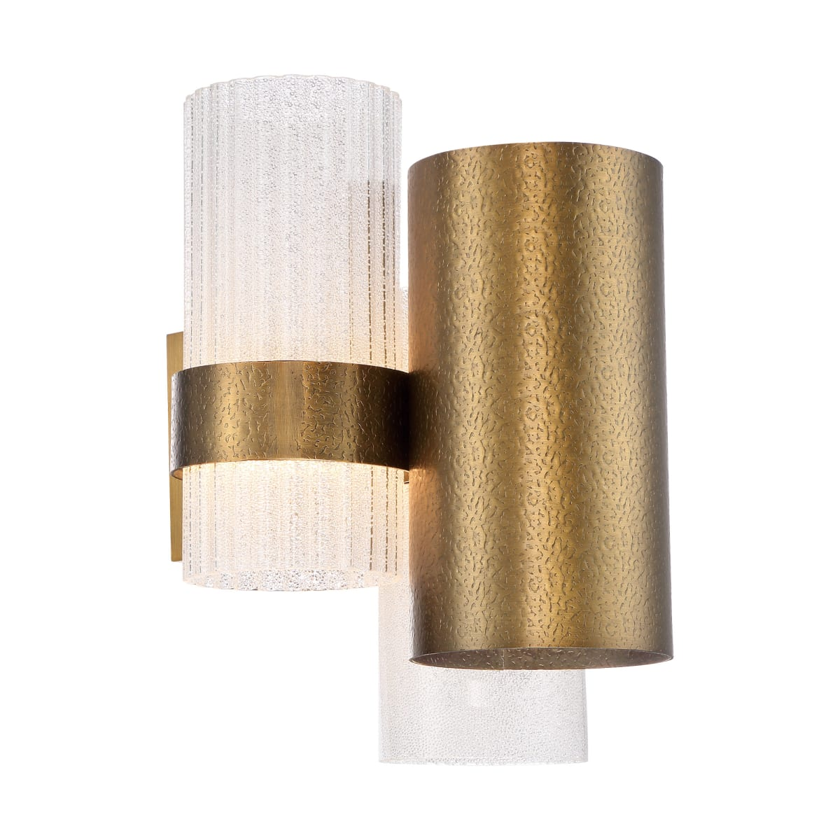 Modern Forms Ws 71014 Ab Aged Brass Harmony 14 Tall Led Wall Sconce With Beaded Glass And Metal Shade Lightingshowplace Com