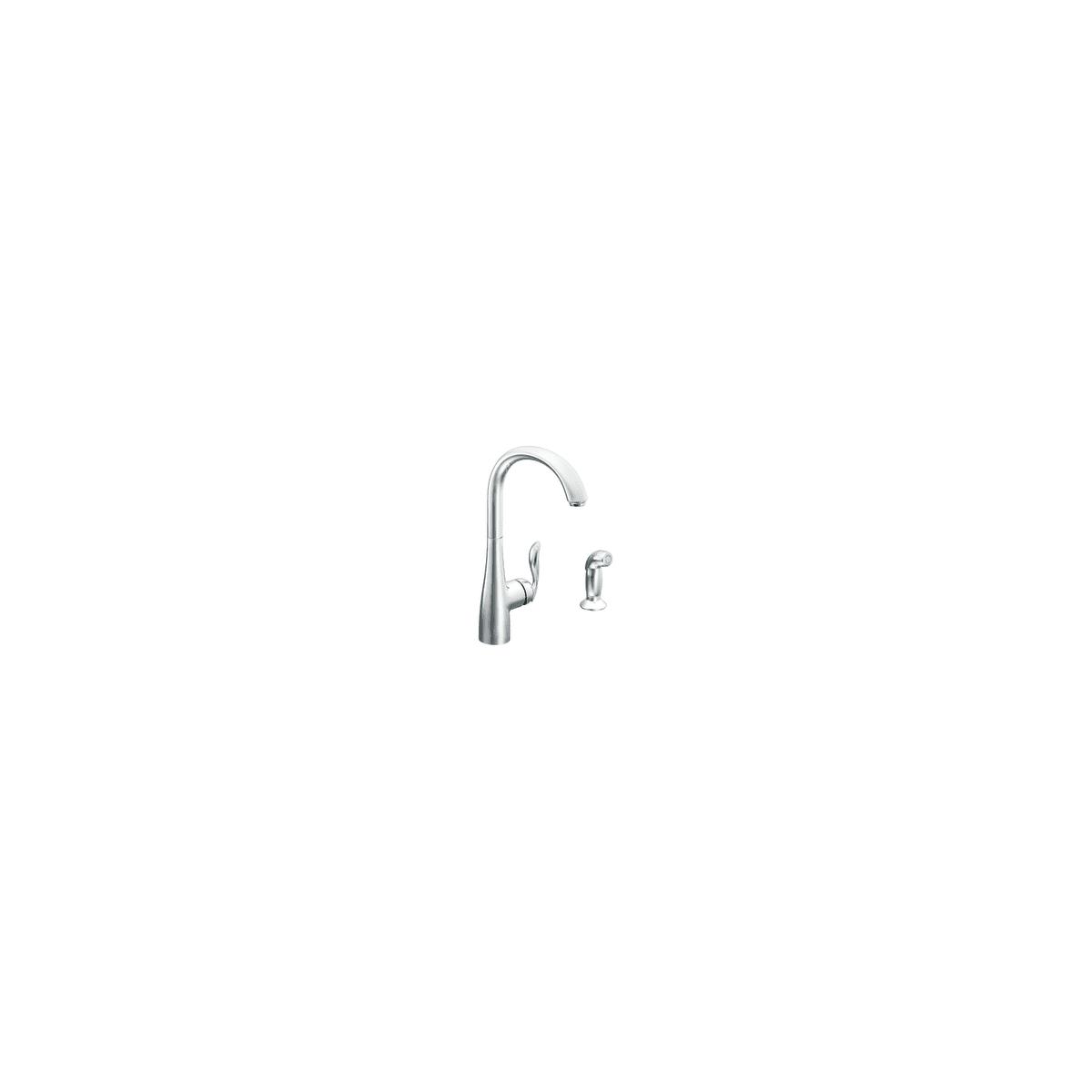 Moen 7790orb Oil Rubbed Bronze Arbor Single Handle High Arc Kitchen Faucet Faucetdirect Com