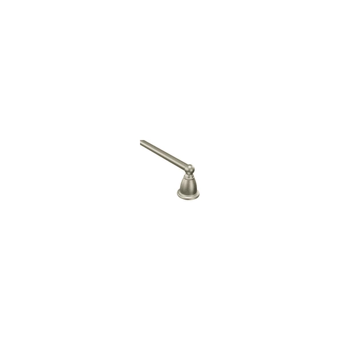 "Moen YB2218BN Brantford 18/"" Bathroom Towel Bar Holder Traditional Brushed Nickel"