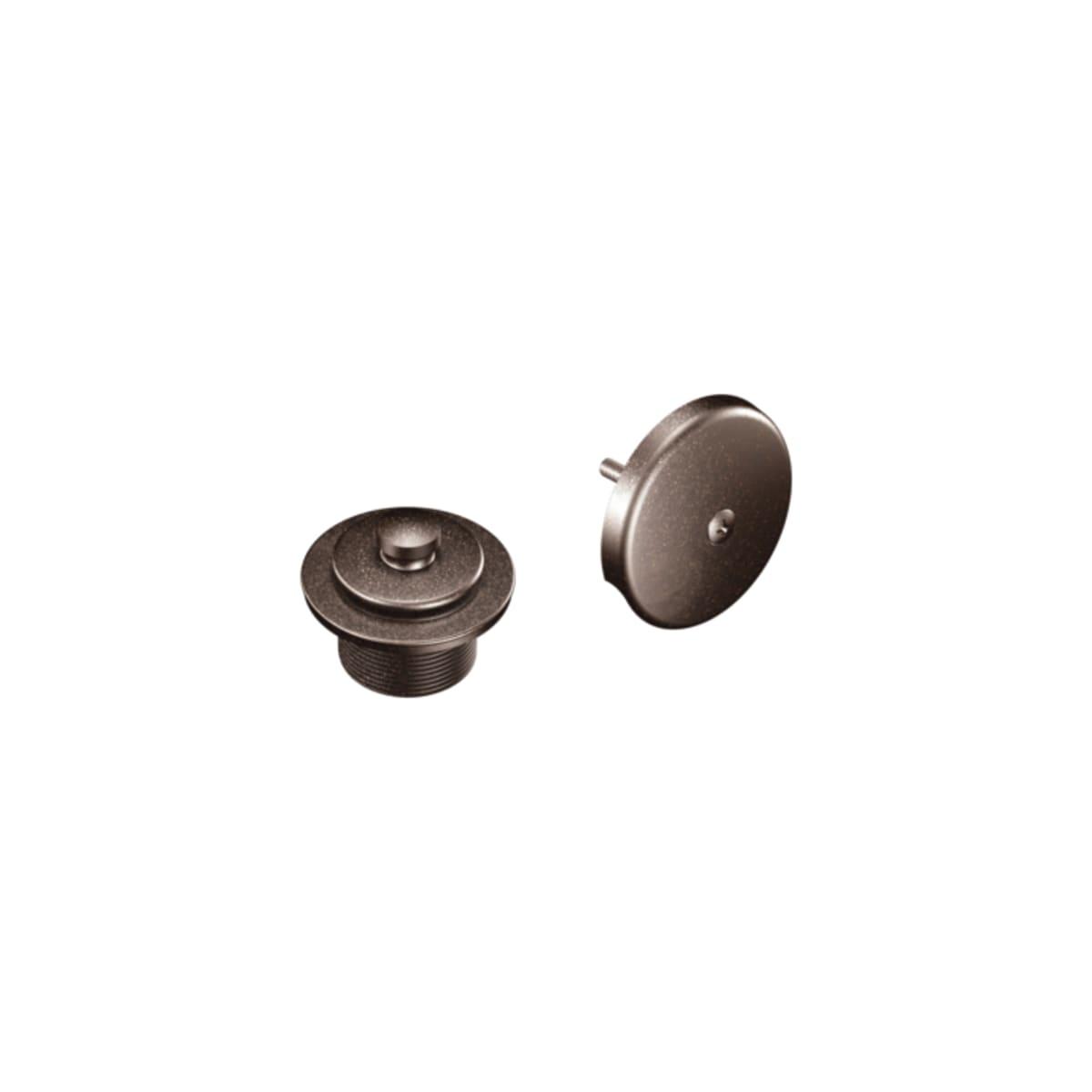 "Moen T90331NL 1-1//2/"" Threaded Tub Drain Kit with Push-N-Lock Drain Assembly"
