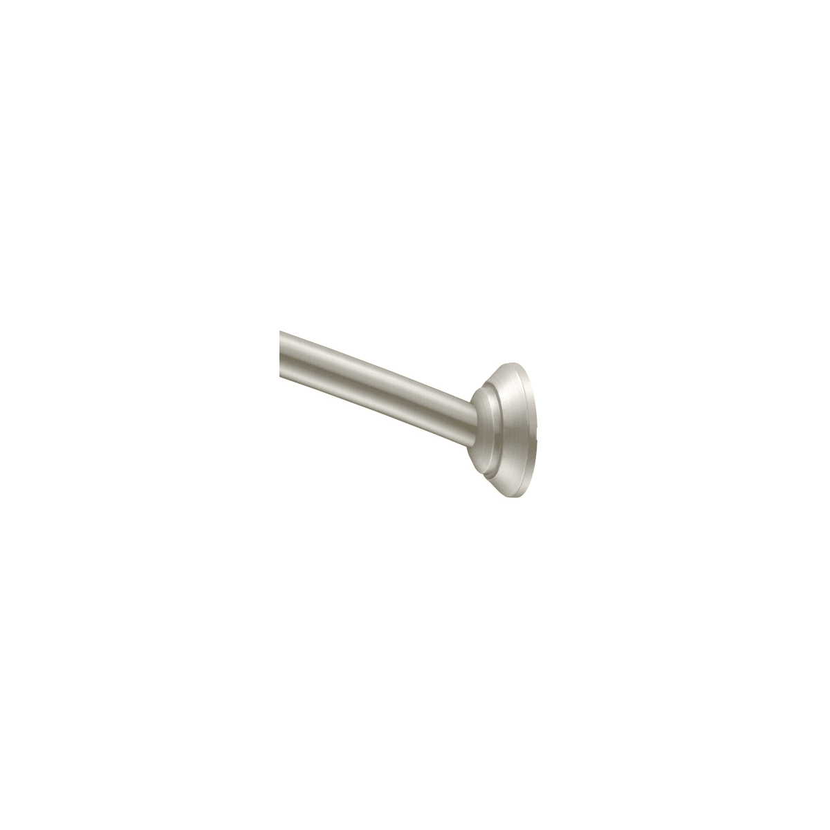 Moen Dn2162bn Brushed Nickel Adjustable 60 72 Curved