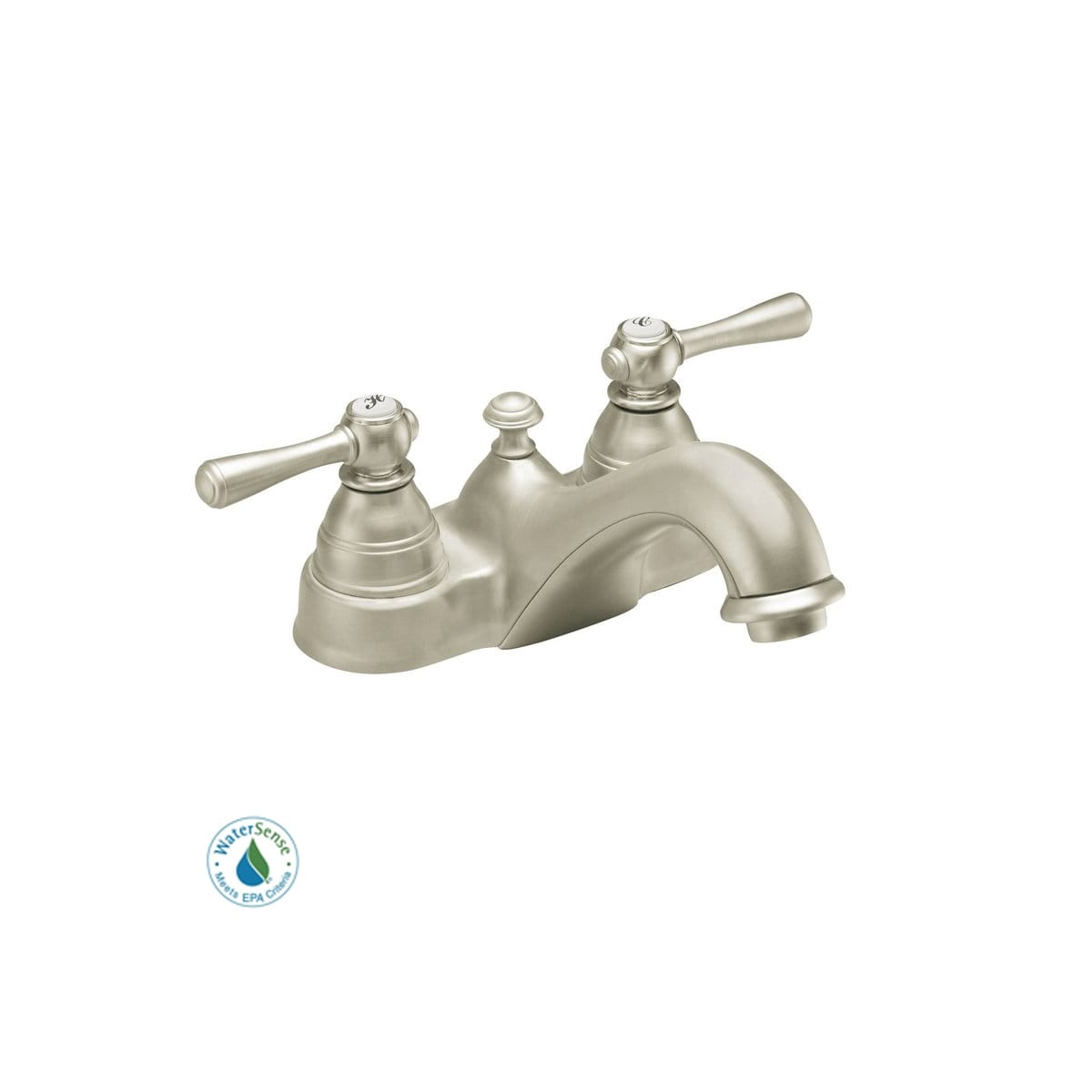 Handle Centerset Bathroom Faucet