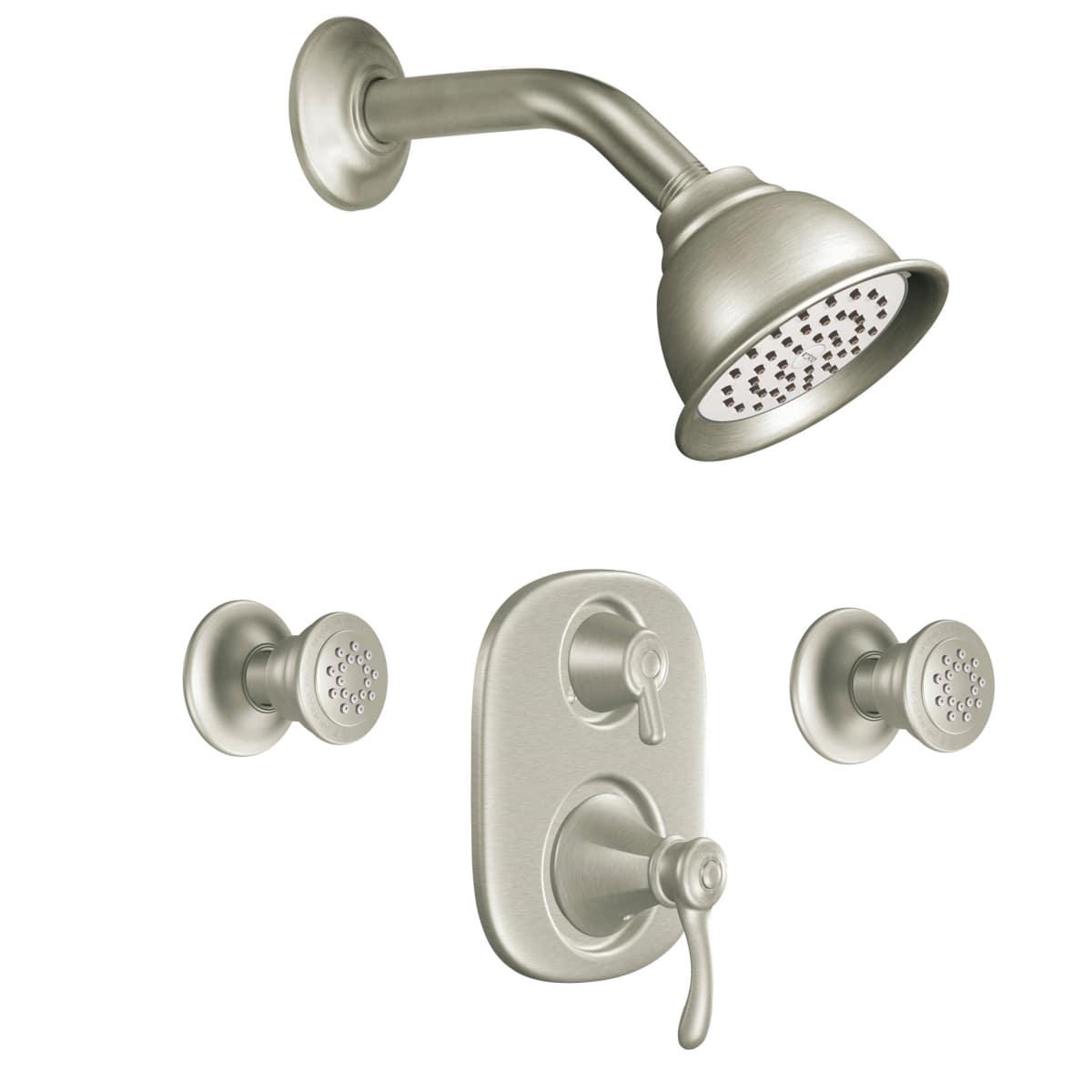 Moen 773 Chrome Pressure Balanced Shower System With Shower