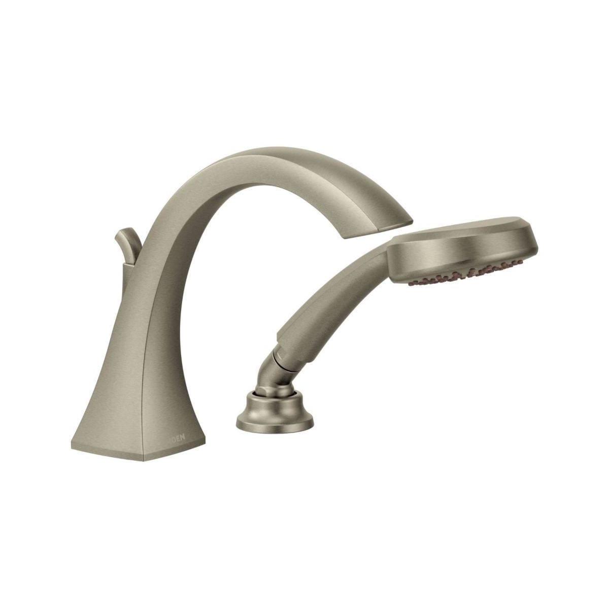Moen T9694bn Iodigital Set Brushed Nickel Roman Tub Faucet