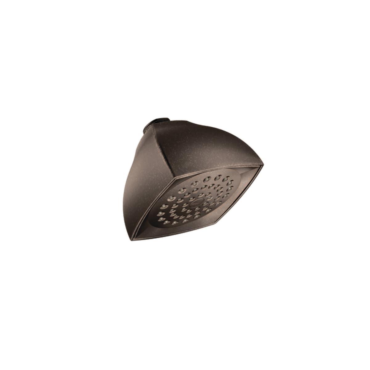 Oil Rubbed Bronze Moen Incorporated Moen 6325ORB One Function Moenflo XL Showerhead
