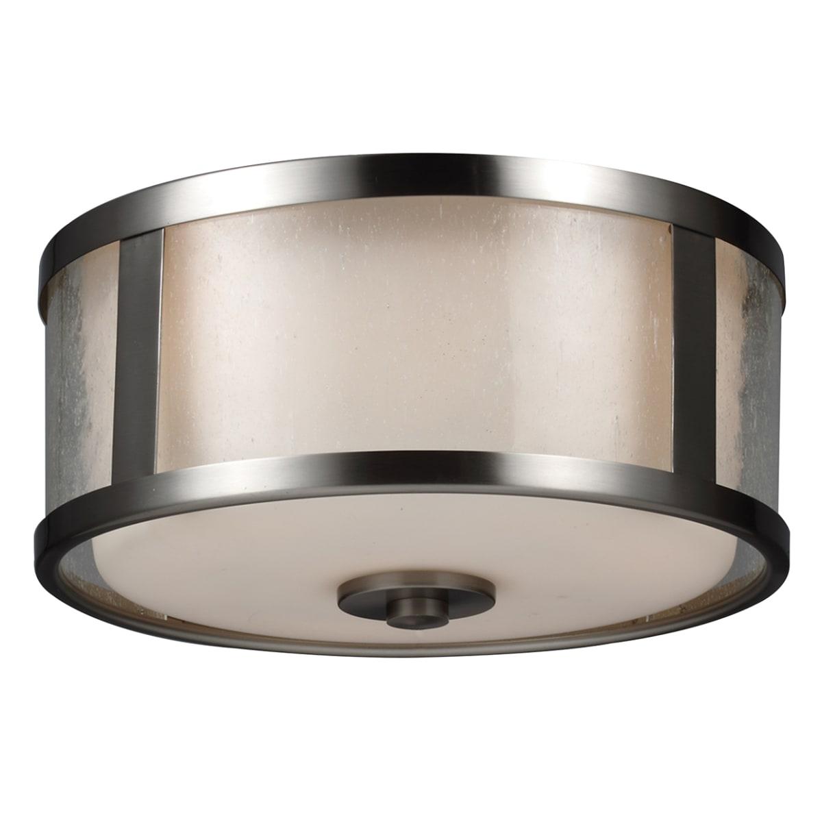 Monte Carlo Mc237bs Brushed Steel Led Fan Light Kit
