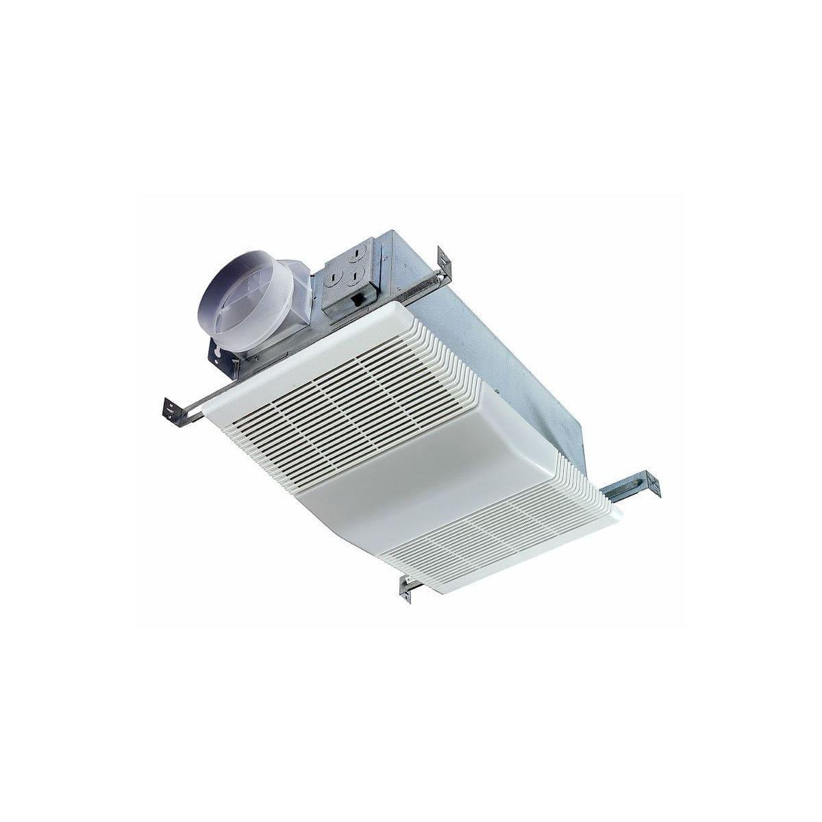 Nutone Exhaust Fans Ventilation 668rp, Nutone Bathroom Fan With Light