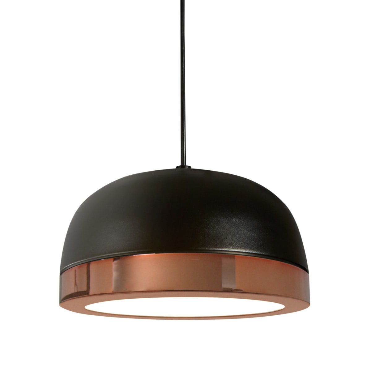 Oggetti Luce 68 556 22 Bk Co Black Copper Molly Single