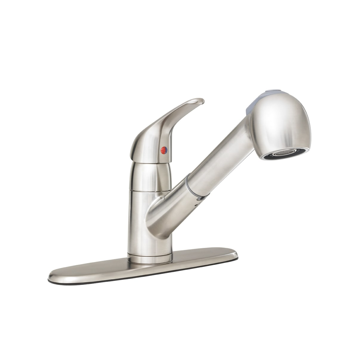 Proflo Pfxc5150bn Brushed Nickel Pullout Spray Kitchen Faucet With Multi Flow Faucet Head Optional Escutcheon Included Faucet Com