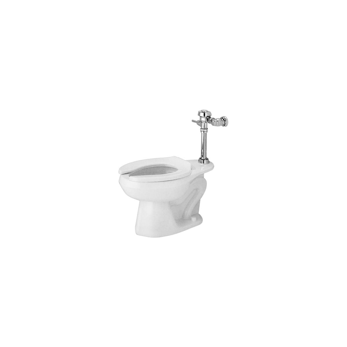 Proflo Pf1701wh White Elongated Toilet Bowl Only With 10 Rough In