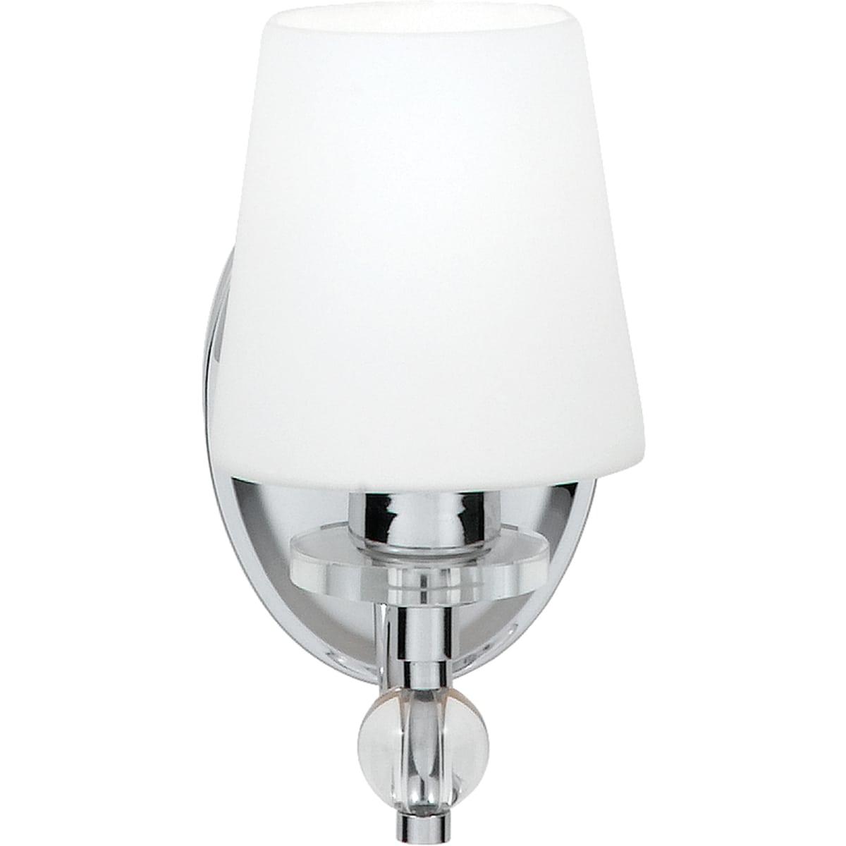 Quoizel Hs8601c Polished Chrome Hollister Single Light 10 Tall Bathroom Sconce Lightingdirect Com