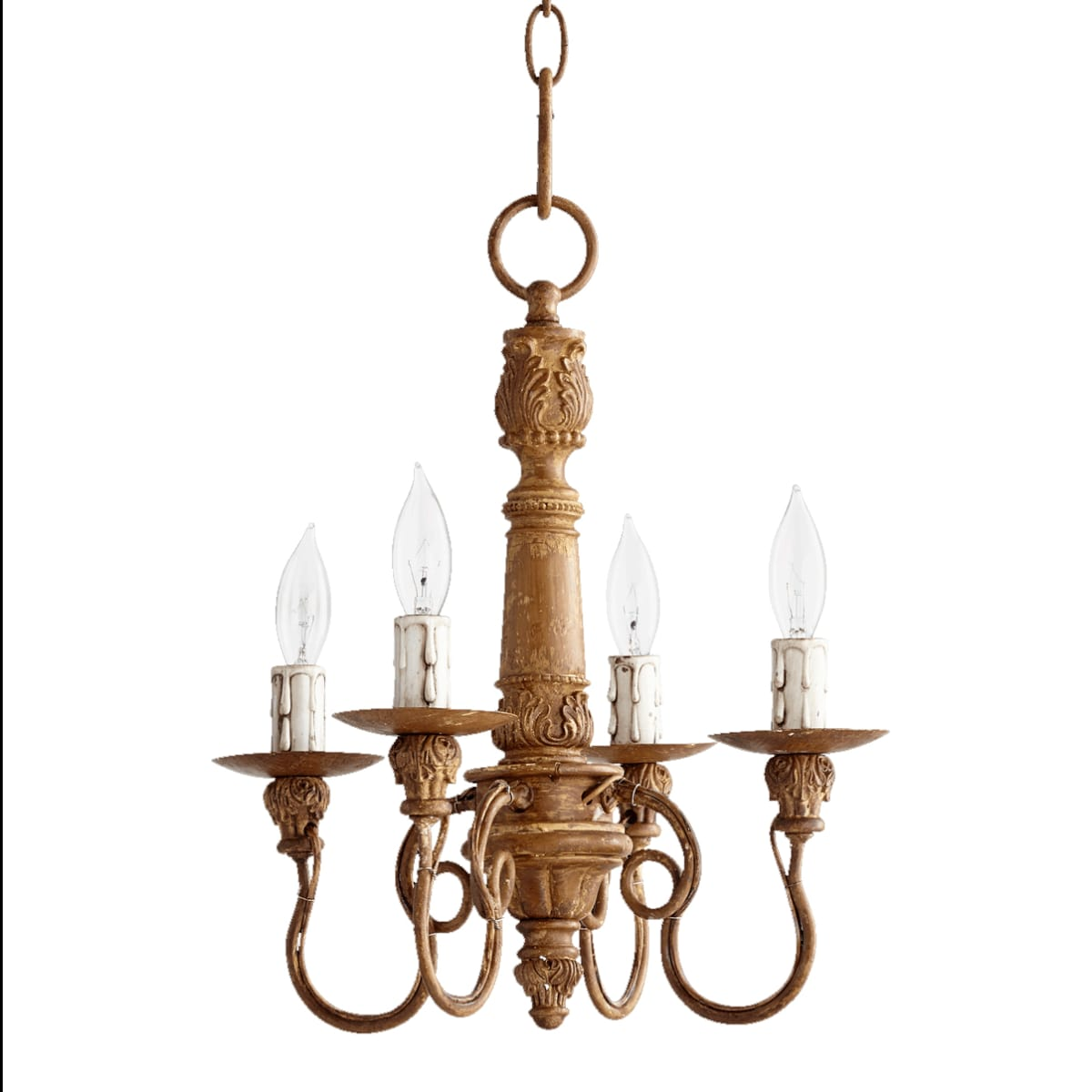French Umber Quorum Salento French country chandelier. #frenchcountry #chandelier #frenchchandelier #frenchfarmhouse