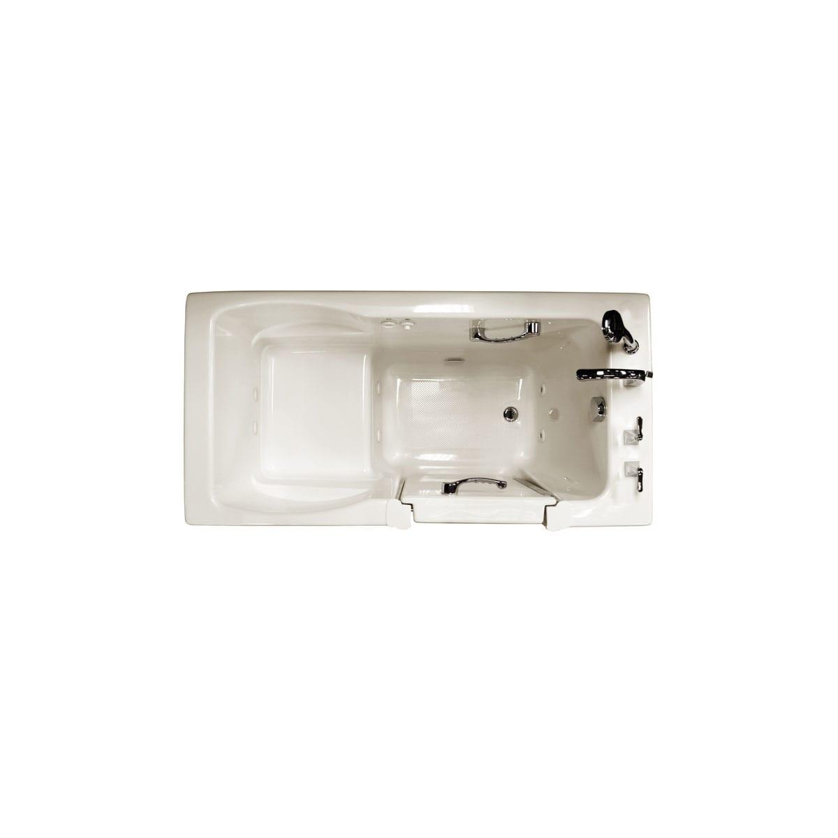 Ristorre Ris6030wrl1hxw White 60 X 30 Three Wall Alcove