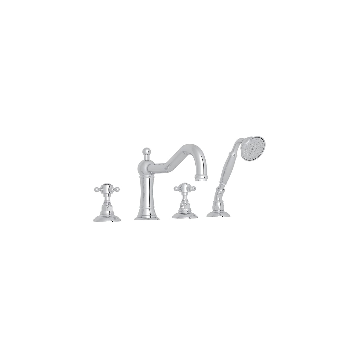 Rohl A1404xctcb Tuscan Brass Country Bath Roman Tub Faucet