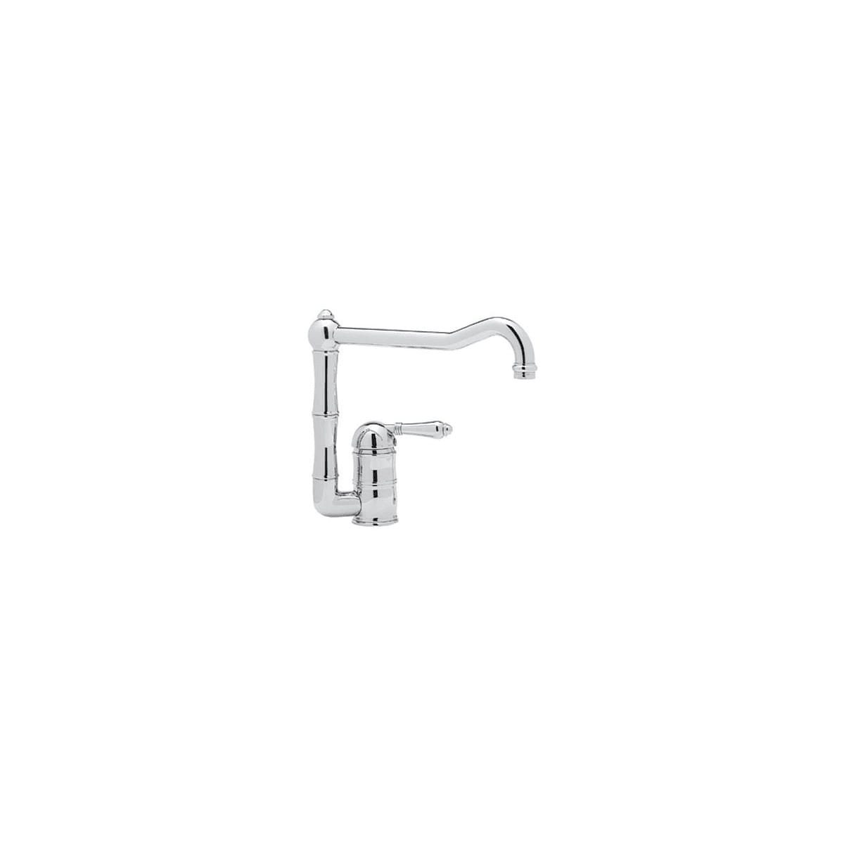 Rohl A3608/11LPAPC-2 Polished Chrome Country Kitchen Faucet ...