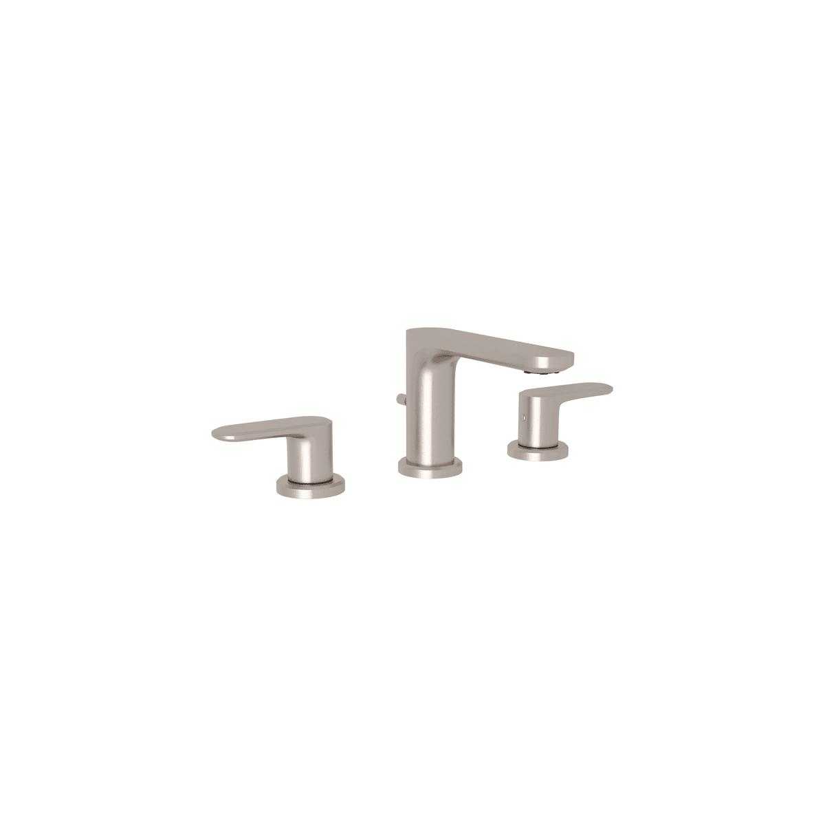 Rohl LV102L STN 2. Meda 1.2 GPM Widespread Bathroom Faucet ...
