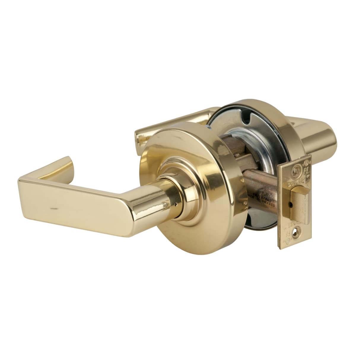 Schlage commercial ND10RHO613 ND Series Grade 1 Cylindrical Lock Passage Function Oil Rubbed Bronze Finish Rhodes Lever Design