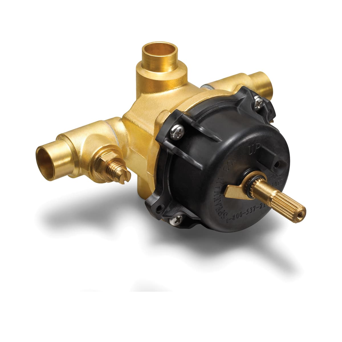 Speakman Cpv 3000 Is N A Sentinel Mark Ii 1 2 Inch Pressure Balance Rough In Valve With Integral And Check Stops Faucet Com