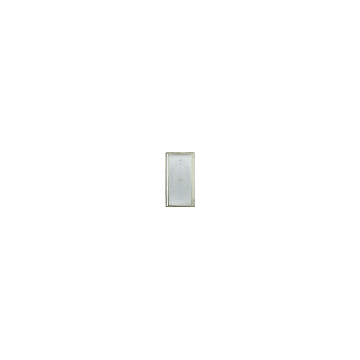 Sterling 1505d 36n G06 Nickel With Rain Glass Pattern Vista