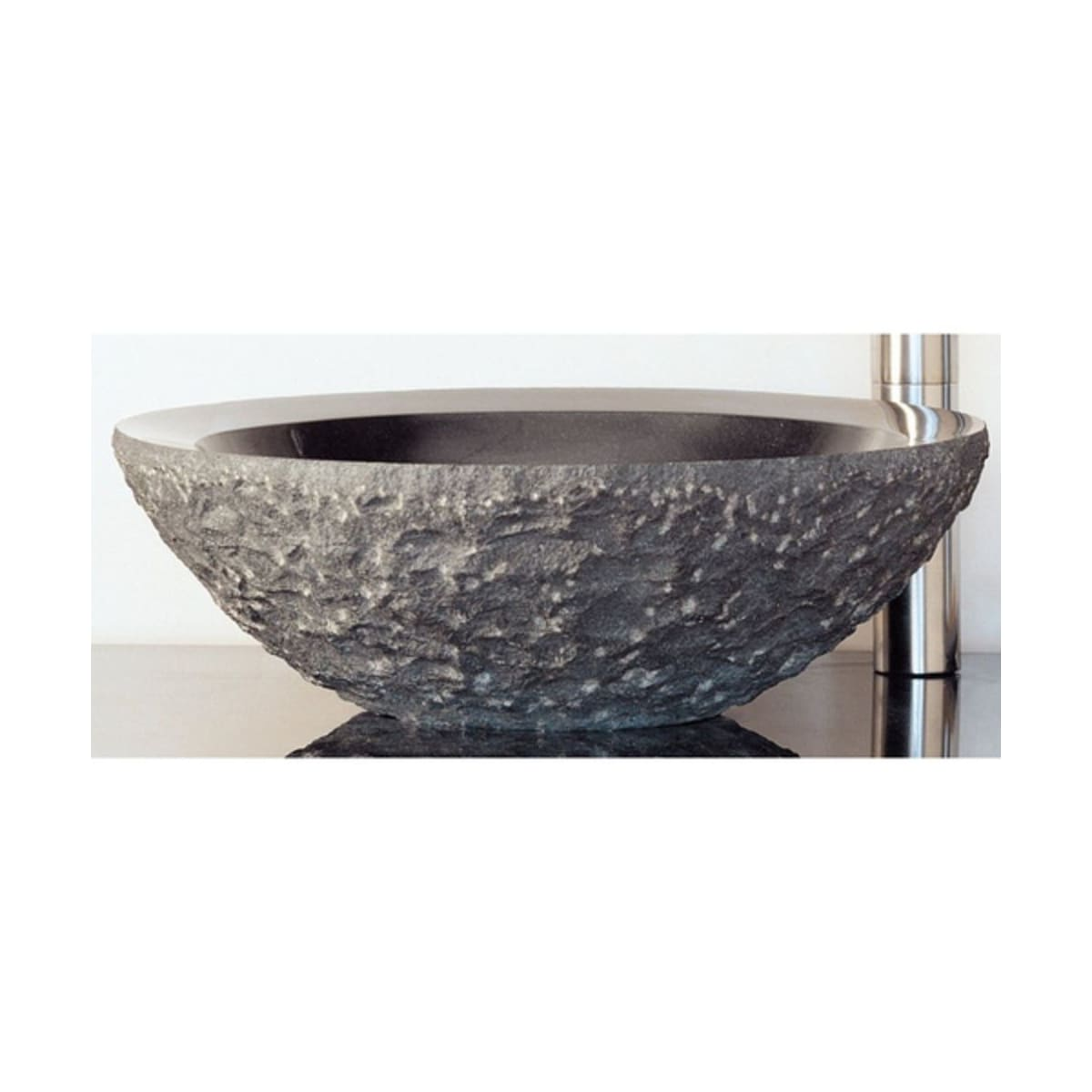 Stone Forest C25 Hb Honed Basalt Stone Bathroom Sink Faucet Com