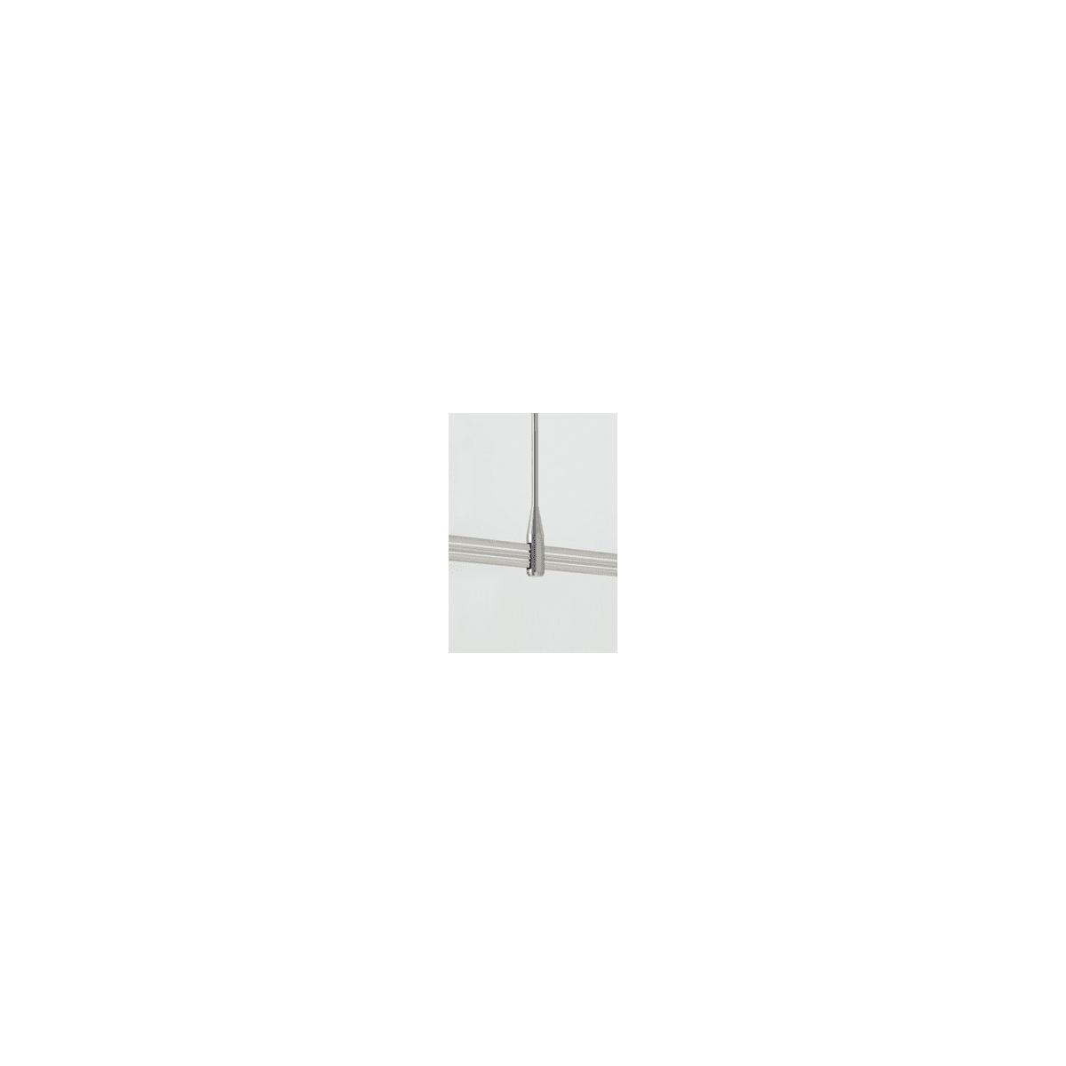 Satin Nickel Tech Lighting Two-Circuit MonoRail Rigid Standoff 700MO2S02S