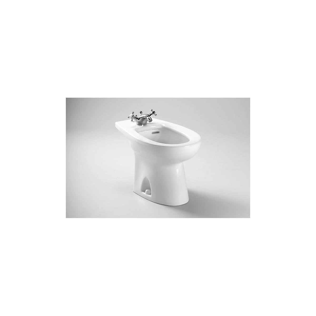 Toto BT500AR#01 Cotton Piedmont Floor Mounted Porcelain Bidet ...