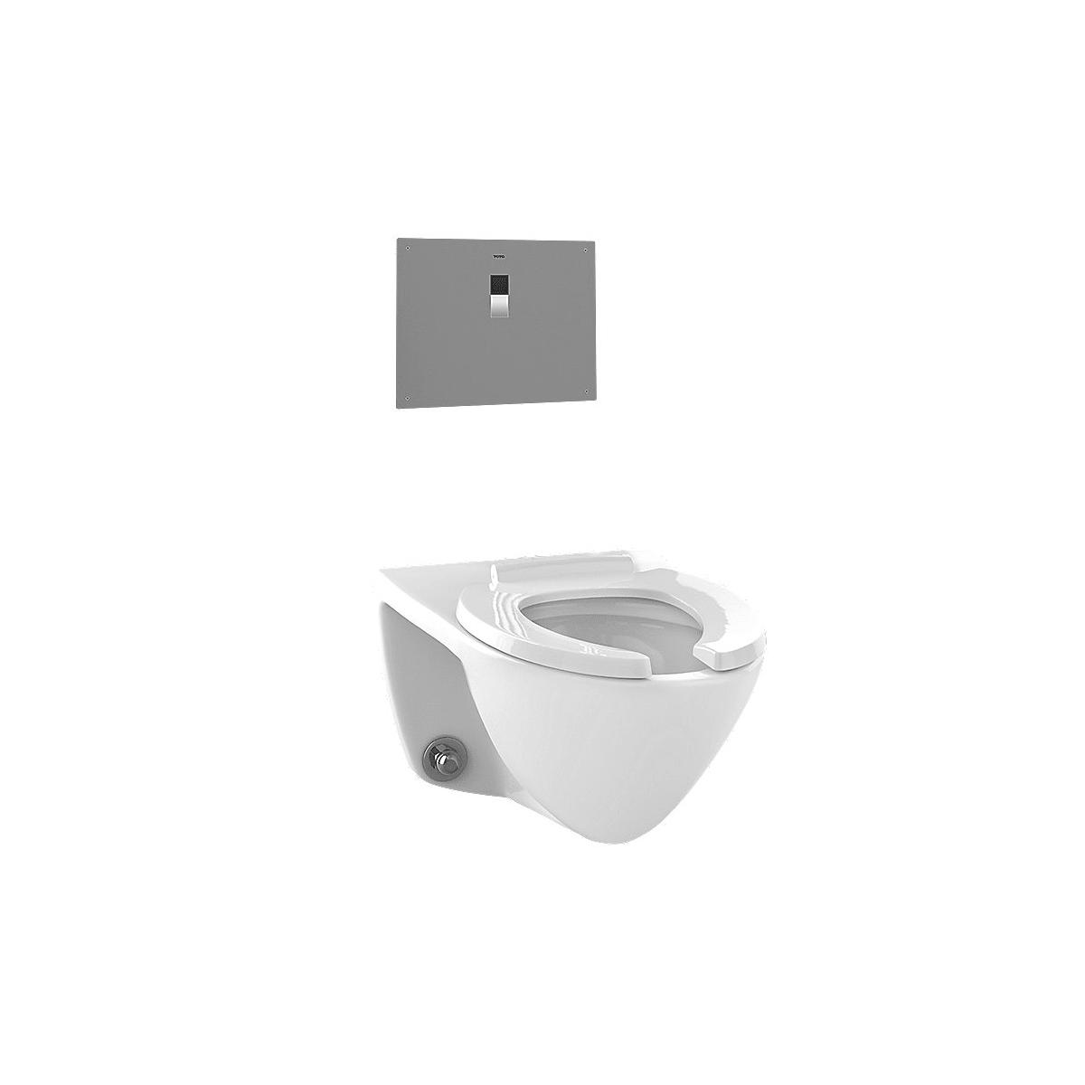 Toto CT708EV#03 Bone Flushometer Elongated 1.28 GPF Toilet Bowl Only ...
