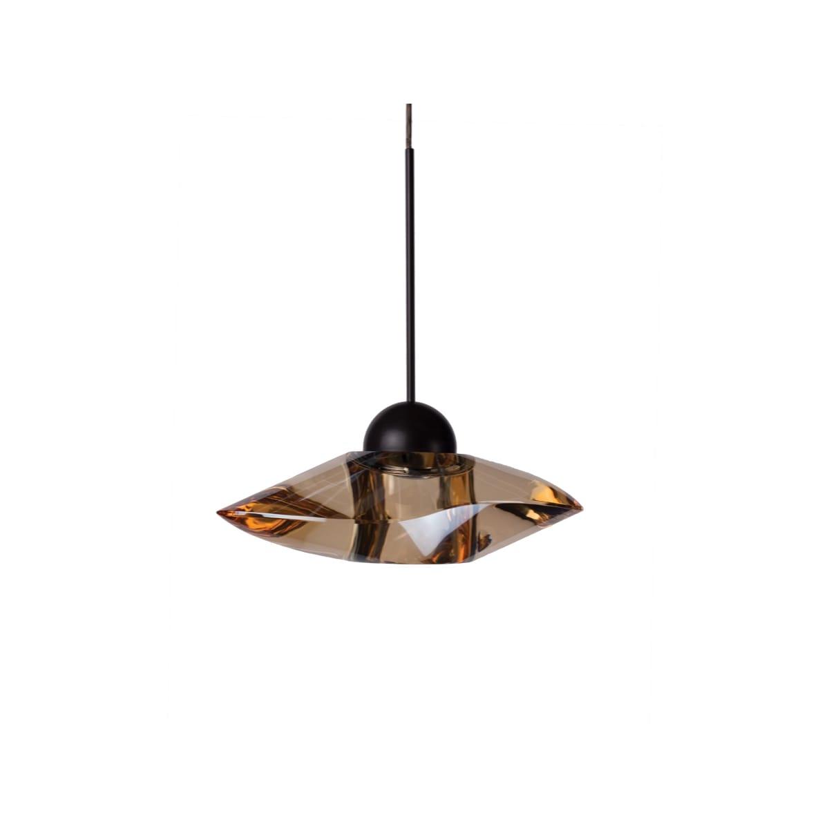 Varaluz 263m01rplgl Posh 1 Light 7 Inch Plum And Gold Leaf Mini Pendant Ceiling