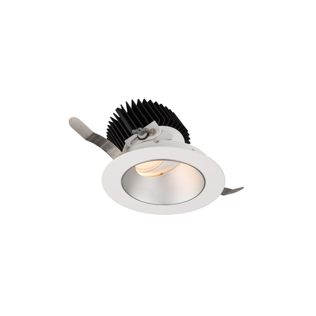 Wac Lighting R3arat N827 Hzwt Haze White 2700k 85cri Aether 3 5 Round Adjustable Trim With Led Light Engine And 25 Degree Narrow Beam Spread Lightingshowplace Com